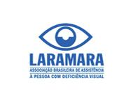 Logotipo Laramara - Associação Brasileira de Assistência à Pessoa com Deficiência Visual