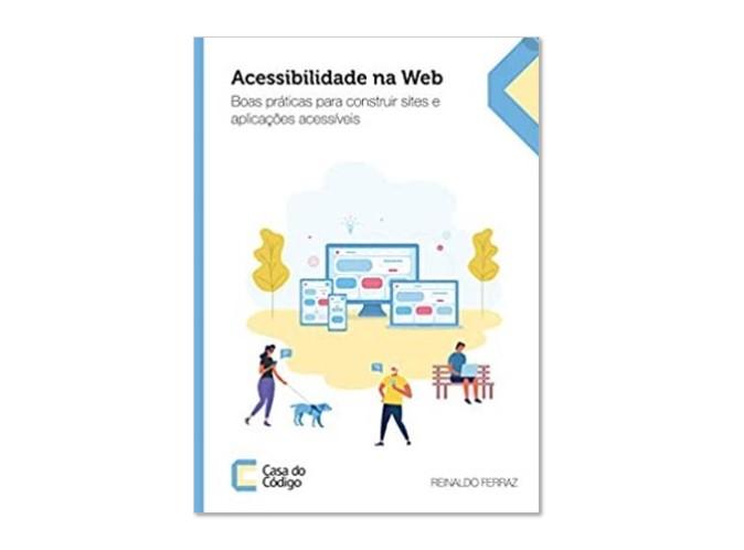 Capa do livro Acessibilidade na Web.